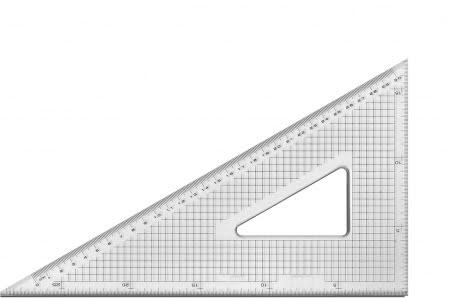 Lemmet Transparante driehoeken