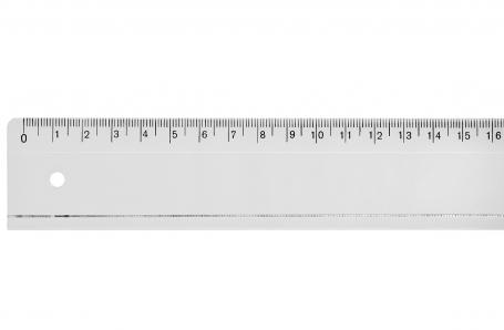 Lemmet Acrylvezel liniaal